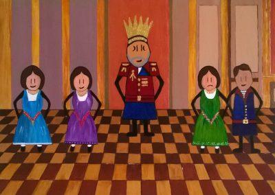 Re Lear e figlie LORETTA CASTAGNA