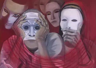 Nascondi chi sono e aiutami a trovare la maschera più adatta alle mie intenzioni CAROLINA SCARDONI