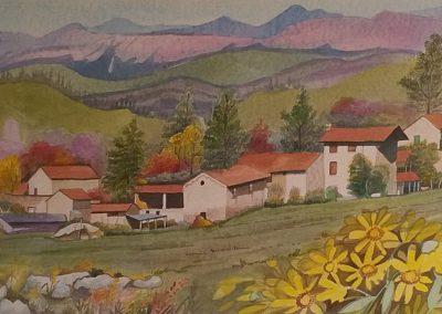 All'inizio della valle - PELLEGRINI ONALIPAOLA