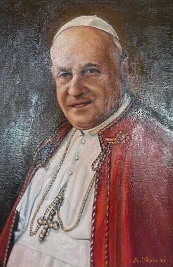 """Omaggio al """"Papa buono VACCARI ALESSANDRO"""